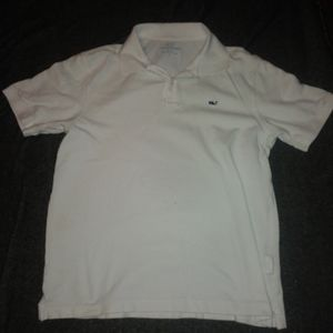 Mens Small Vineyard Vines Polo Shirt White